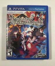 Psychedelica of the Black Butterfly PSV (Sony PlayStation Vita, 2018) with Cards