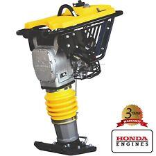 Tamping Rammer Jumping Jack 3Hp Honda Engine Tamper Dirt Soil Gravel 3350 lbs/ft