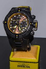 Invicta Subaqua Noma IV Reserve Series Model 23037 Black Poly Band