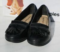 Ladies Hush Puppies NAVEEN ROBYN Slip On Moccasin Loafers Shoes Black Brown New