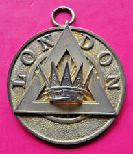 Past London Grand Chapter Rank collar jewel masonic Royal Arch RA 1964 hallmark
