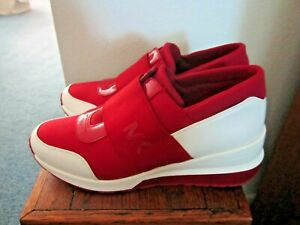 Michael Kors Red Athletic Shoes for