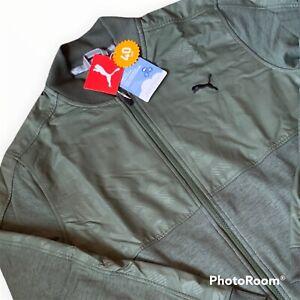 PUMA Cloudspun Stith Camo Jacket UPF 40 Ultra Soft Wicking Mens Large L TC12747