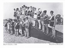 "*Postcard-""Beauty Pageant, 1928""  *Wrightsville Beach, NC (#221)"