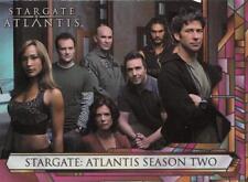 2006 Stargate Atlantis Season 2 promo card P1