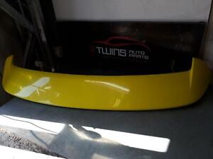 SUZUKI SWIFT REAR SPOILER W/ CLEAR 3RD BRAKELAMP TYPE, FZ, 12/10-03/17