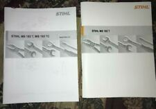 MS 193T MS193T 193 TC Stihl Chainsaw Service Workshop Repair & Parts List Manual