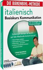 Birkenbihl-Italienisch Basis Kommunikation Audio-Kurs 4CD+Booklett Neu (2000)