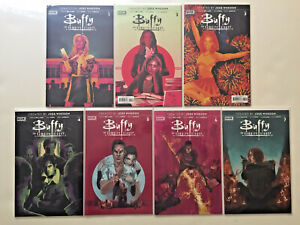 BUFFY 1-13 ANGEL 0-9 BOOM COMPLETE HELL MOUTH 1-5 & TIE-INS CHOSEN ONES 29 TOTAL