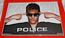 Neymar Jr football - Présentoir PLV Display 34x23cm - Police, my game, my rules