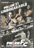DVD PRIDE FC FIGHTING CHAMPIONSHIPS 31 UNBREAKABLE ENGLAND