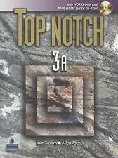 NEW Top Notch 3A with Workbook and Super CD ROM (Units 1-5) (Top Notch S)