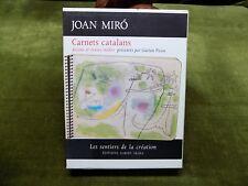 JOAN MIRO Carnets Catalans Dessins et textes inédits Gaétan Picon coffret 2t.