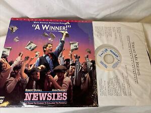 Walt Disney - Newsies - Laserdisc - 2-disc Set