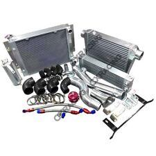 CXRacing Intercooler Piping Rad Oil Cooler Kit For RX7 SA FB 13B RX-7 Twin Turbo