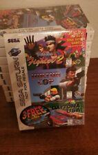 Sega Saturn 3 in 1 Virtua Cop - Virtua Fighter 2 - Daytona Usa 🔥 Sealed New🔥