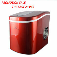 2.2L Compact Ice Maker Portable Deluxe Mini Cube Counter Top Machine, 26 lb/day