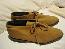 Bandolino Vintage Camel Suede Flats - size 7.5 Mint condition- Made in Italy