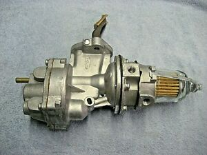 NOS Carter M4006 Dual Action Fuel Pump IHC Scout w/ Turbo and  vacuum wipers