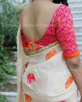 Bollywood Saree Party  Ethnic Wedding Indian Pakistani Designer silk Sari sa54