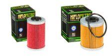 KTM EXC 450 2003 - 2007 Oil Filter Set HiFlofiltro HF155 HF157 Pair 1st & 2nd