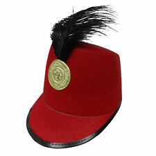 Adult Red Marching Band Hat