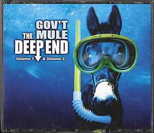 GOV`T MULE The Deep End Volume 1 & 2/ 3 CD BIG BOX Warren Haynes Allman Brothers