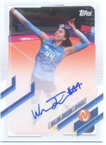 Willow Johnson 2021 Topps Now Athletes Unlimited Volleyball Autograph