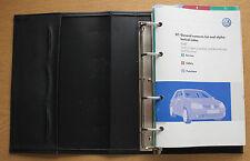 VW Golf V GT R32 Bluemotion Manual Owners Manual Cartera 2003-2008 Pack 15101