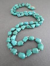 Vintage Chinois Turquoise Collier