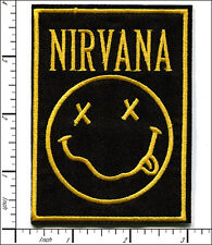 """20 Pcs Embroidered Iron on patches NIRVANA Music Band 2.83""""x3.78"""" AP056rA"""