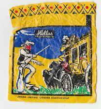 Hellas Finland Cowboys & Indians Wax chewing gum wrapper #4 Jesse James