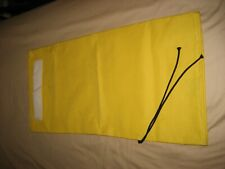 HOLLYWOOD RAGES & BACKDROPS RAGS BAGS NEW  YELLOW 29X14