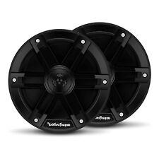 Rockford Fosgate M0-65 Weatherproof Full Range Marine 6.5 Inch Speakers, Black