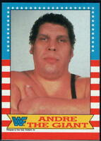 1987 Topps WWF Wrestling - Pick A Card