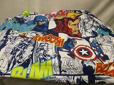 Marvel Avengers Assemble 100% Polyester Twin Fitted Sheet Iron Man Thor Hulk