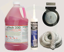 WoodMaster 4400 Maintenence Kit Wood Boiler Water Treatment Fire Rope, Fan Cover