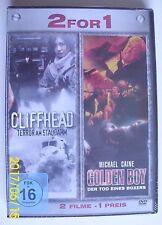 GOLDEN BOY (Michael Caine) & CLIFFHEAD-TERROR AM STAUDAMM - 2 Filme auf 1 DVD