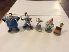 5 DISNEY PVC FIGURINES CAKE TOPPERS PLUTO DONALD DUCK SZF 000045