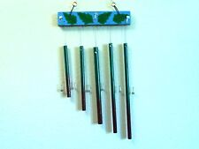 Handcrafted Charming Chimes Axe Charm Line Wind Chimes Decorative Wood Silver