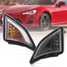 Smoked LED Corner Light for 2013-up Subaru BRZ Toyota GT86 DRL Turn Signal Assy