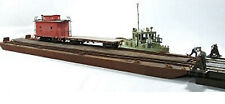 On30 TWO TRACK CARFLOAT Waterline Hull Model Railroad Structure Resin KIT FR155