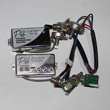 ProBucker Alnico Neck&Bridge Pickups with Pro Wiring Harness Pots/w 3 Way Switch