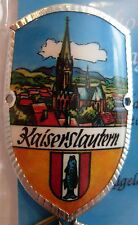 Kaiserslautern new badge mount stocknagel hiking medallion G9832