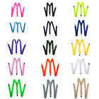 Mens Womens Clip-on Suspenders Elastic Y-Shape Adjustable Braces a