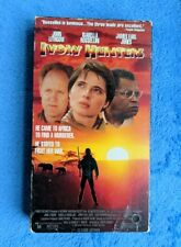 IVORY HUNTERS VHS Tape 1990 Adventure John Lithgow Isabella Rossellini