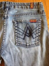 7 For All Mankind Nakita A Pocket Bootcut Women's Denim Blue Jeans size 25 #55