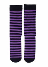 Cotton Blend Striped Stockings & Hold-ups