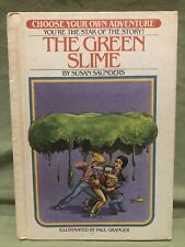 THE GREEN SLIME by Susan Saunders (Hardcover, 1982) CHOOSE YOUR OWN ADVENTURE