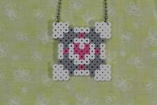 Portal - Companion Cube - Necklace